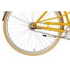 Creme Caferacer Uno Naiset kaupunkipyörä , keltainen/oranssi